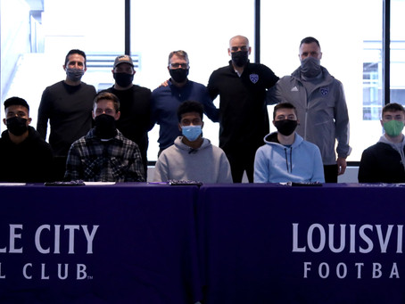 Louisville City 2021 Academy Signings