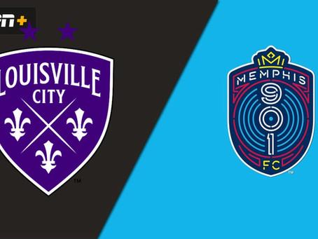 Next Match – Louisville City vs Memphis 901 – 06/12/2021