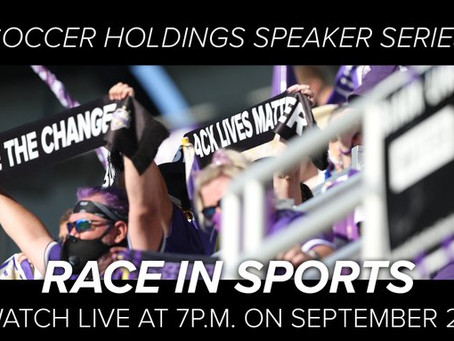 Soccer Holding Speaker Series – Race In Sports