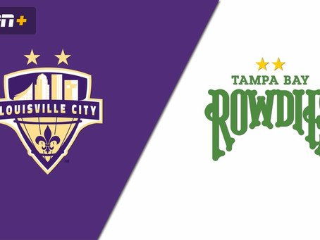 Next Match: Louisville City vs Tampa Bay Rowdies – 10/24/2020 – 2020 Playoffs