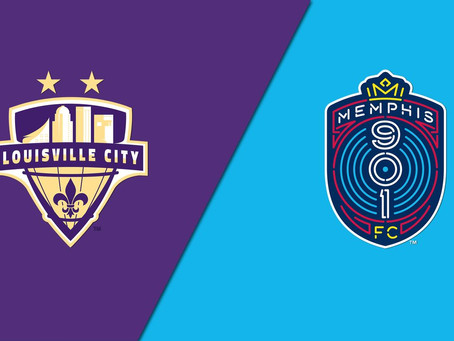 Next Match: Louisville City vs Memphis 901 - 09/18/2020