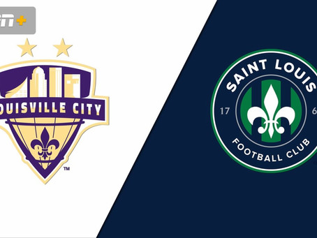 Next Match: Saint Louis FC vs Louisville City - 08/29/2020