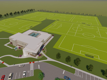 Champions Park Training Facility Groundbreaking