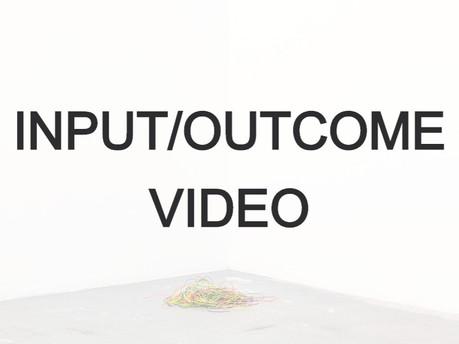 Input/Outcome III (Disparaître. La forme des choses)  Restitution (animation)