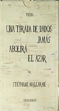 UNA TIRADA DE DADOS JAMÁS ABOLIRÁ EL AZAR