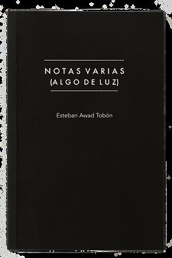 NOTAS VARIAS (ALGO DE LUZ)
