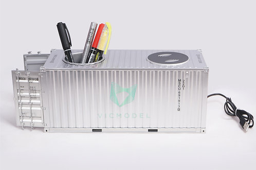 Shipping container wireless charger