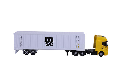 1:87 reefer container Mercedes truck model