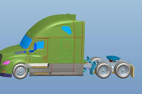 Freightliner truck model