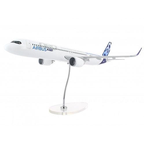 A321 Neo Long Range 1:100 scale plane model