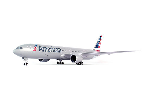 Daron Skymarks SKR715 American 777-300 New Livery Airplane Model