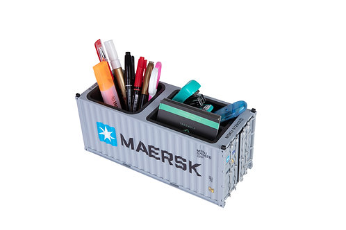 1:25 shipping container business card&pen holder