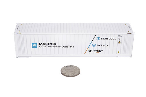 1:78 star cool CA reefer container model Licensed to produce by Maersk Industry