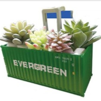 shipping containers flower pot