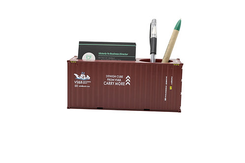 1:35 shipping container pencil(card) holder
