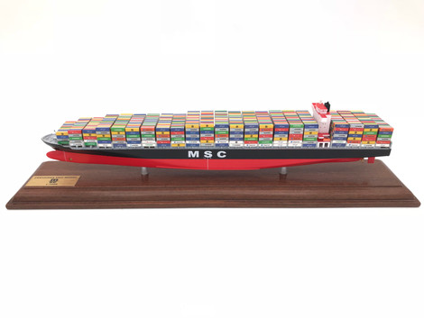 35cm container ship model