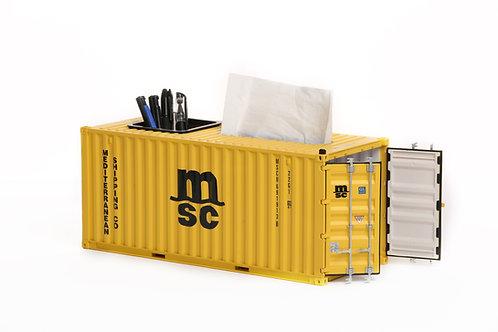 1:20 Shipping container tissue box/pen box