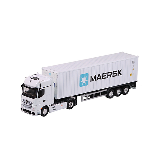 Reefer container truck model 1:50