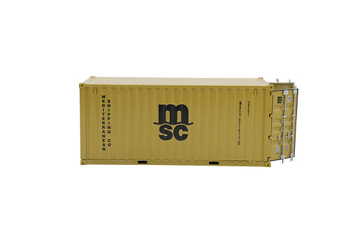1:35 metal container model