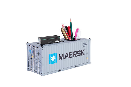 1:25 model shipping container pen&card holder Design