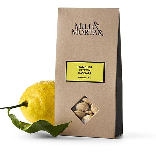 Mill & Mortar Mandler med Citron & Havsalt