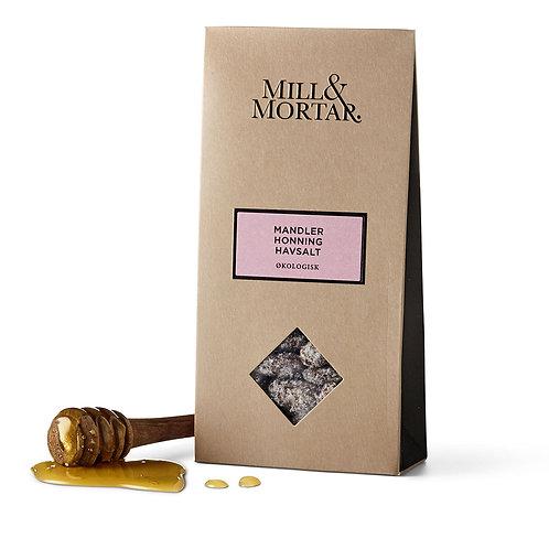 Mill & Mortar Mandler med Honning & Havsalt