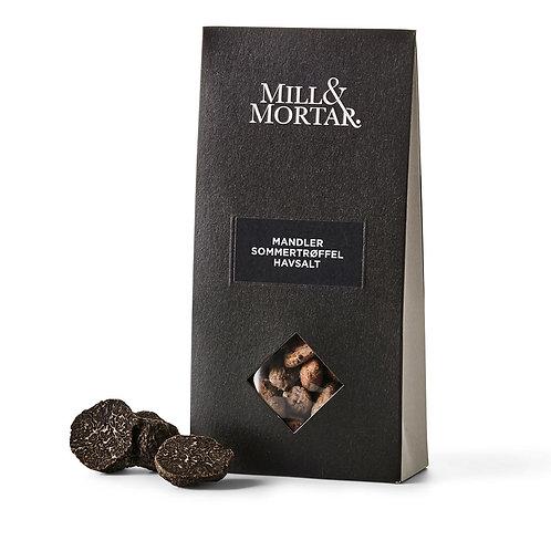 Mill & Mortar Mandler med Sommertrøffel & Havsalt