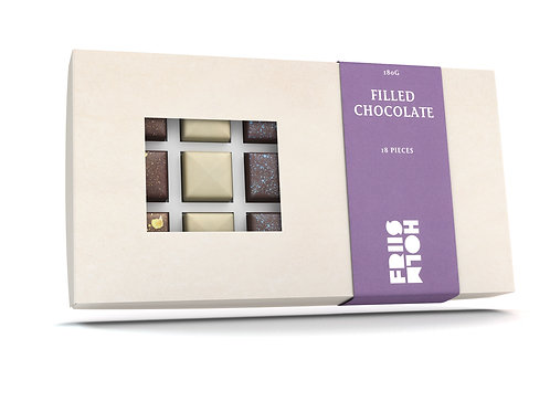 Friis-Holm Filled Chocolate (18 Pcs)