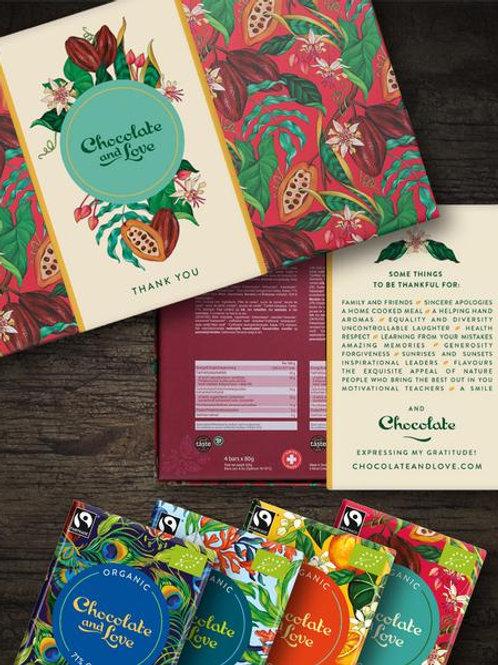 Sleeves til Chocolate & Love gaveæsker