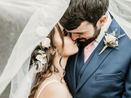 Carolyn and Eric- Georgia Wedding on the Creek