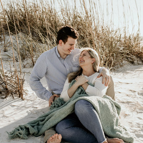 Sarah and Andrew- Engagement Session on the Beach
