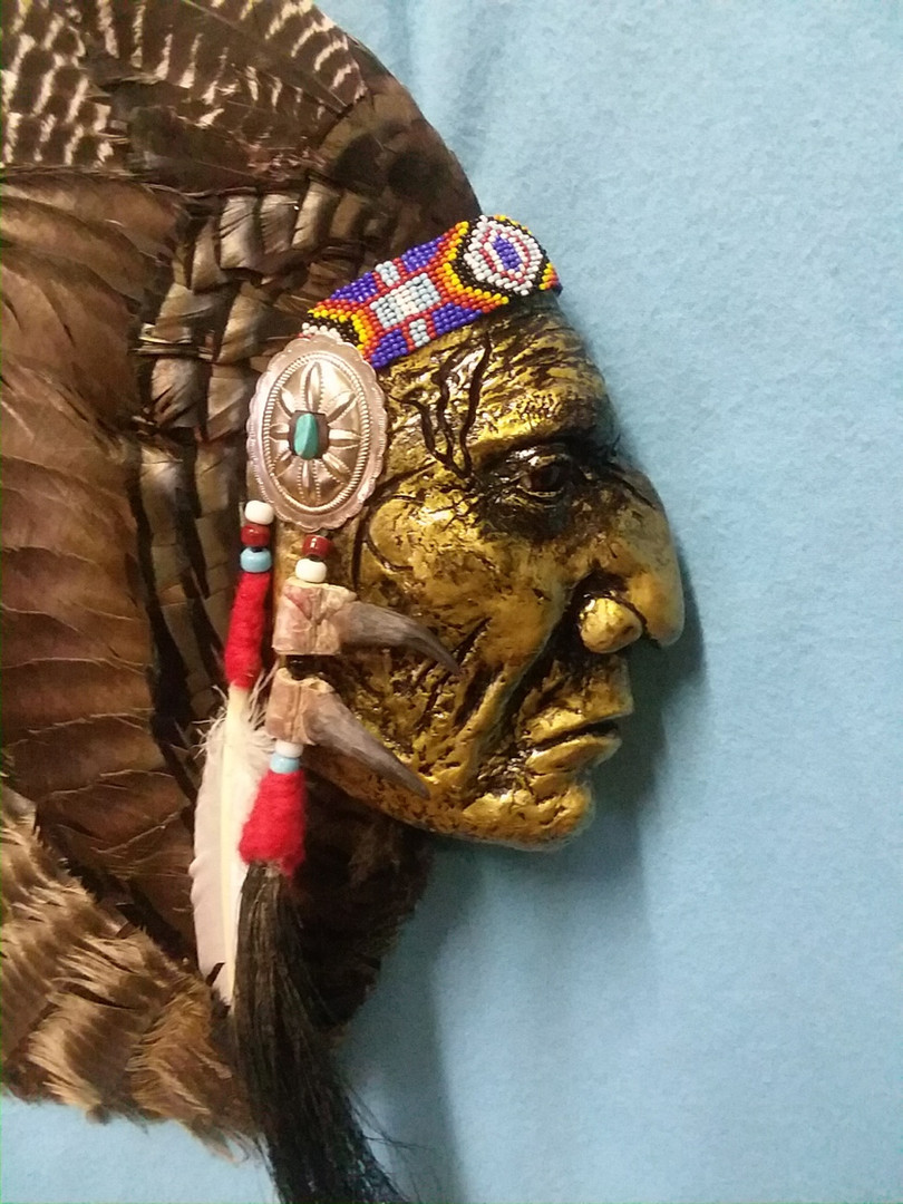 Chief Three Eagles- Flathead from the Nez-Perce country
