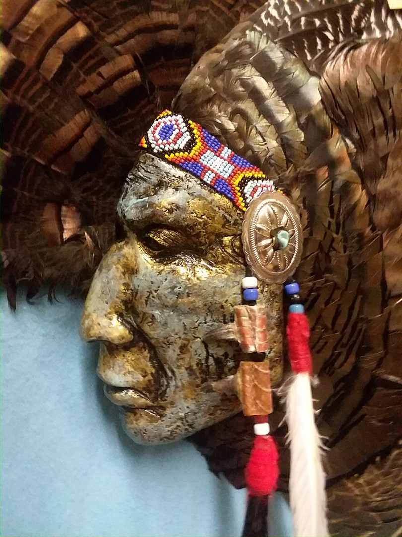 Chief Whirling Horse - Sioux