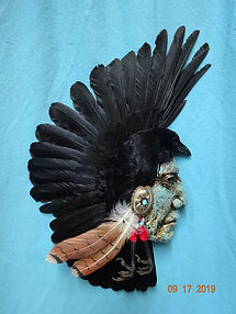 Three Eagles crow mount small.JPG