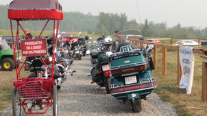 """Event: """"Bad Things Happen To Good People"""" Charity Poker Ride. Longview, AB."""