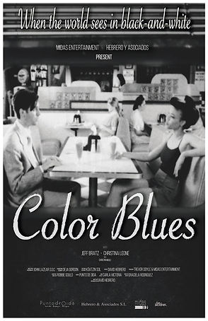 Color Blues Poster