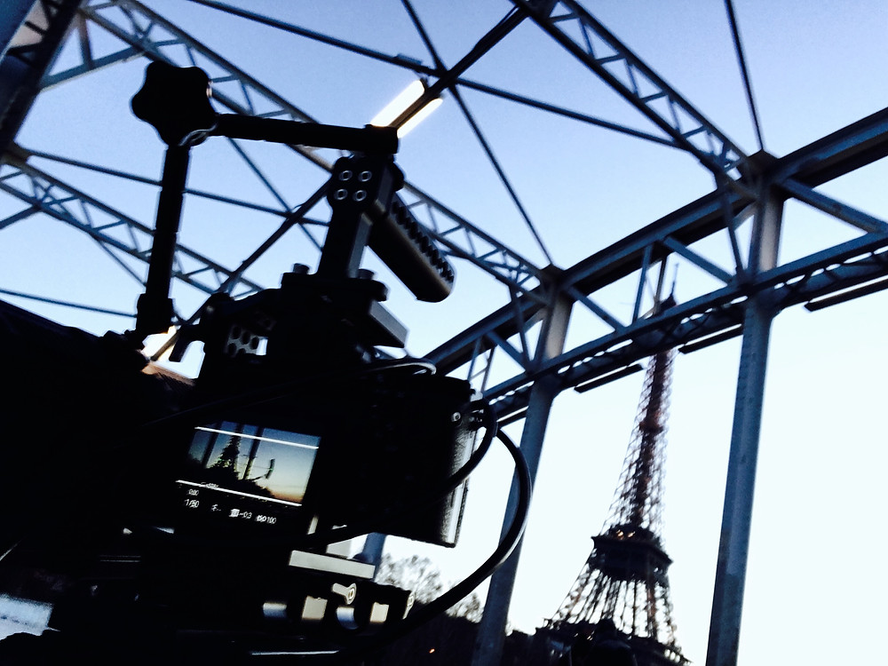 Shooting in Paris