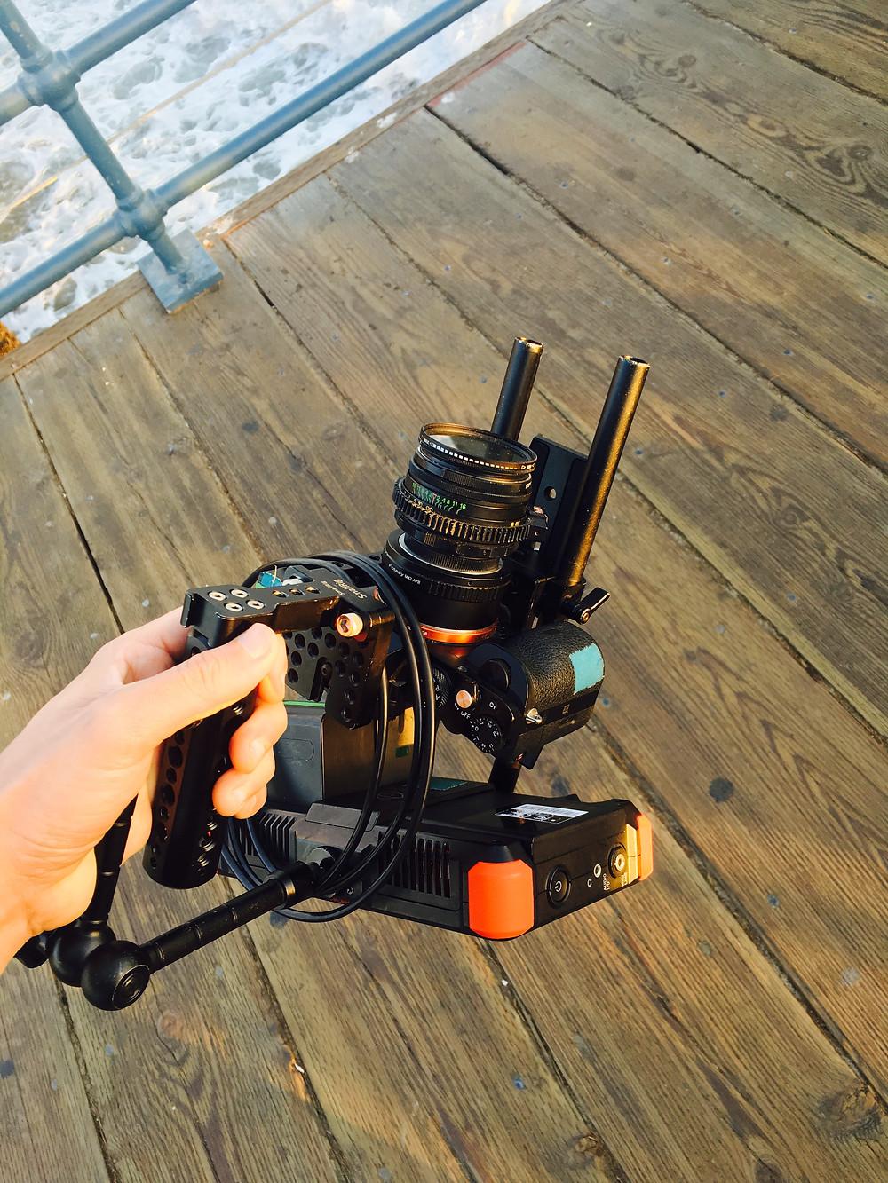 Camera gear used un Dulcinea