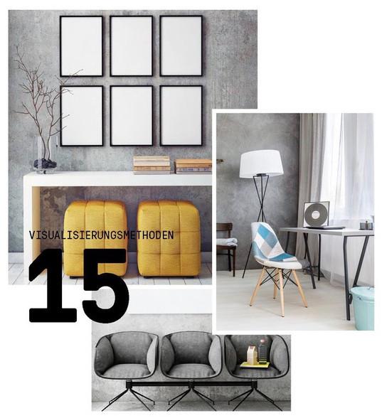 Interiordesign und Farbdesign