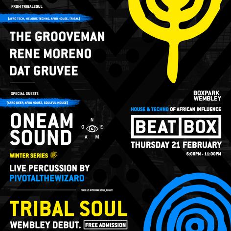 TribalSoul X BOXPARK, London, UK