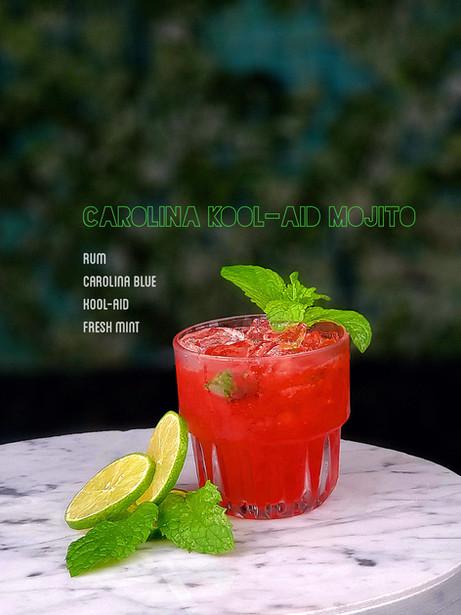 Carolina Kool-Aid Mojito