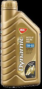 MOL Dynamic Moto 4T Racing Pro 5W-60 купить, Моторные масла для мотоциклов купить, Моторные масла для мототехники купить, Моторные масла для легкового транспорта купить, Моторные масла для легковых мотоциклов купить, Моторные масла для дизельных двигателей купить, Синтетические масла купить