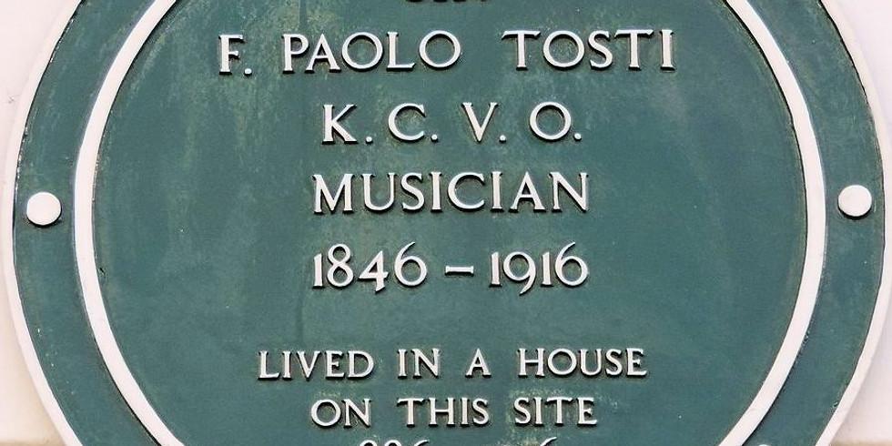 A portrait of Paolo Francesco Tosti