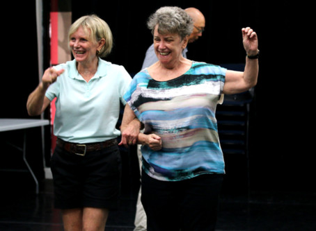 CREATIVE AGING THROUGH DANCE