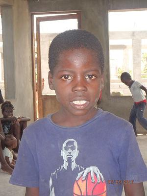 Stevens Lucien, age 7, 1st grade, School Natioanl de Valere, Cost $70 TENETI (Carolines brother).JPG