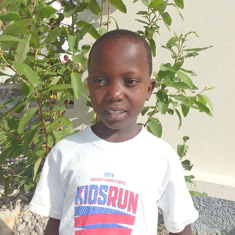 2 Rodney Felix, age 8, grade 2, School Saint Francois Salle, $800 Haitian P7200368.JPG