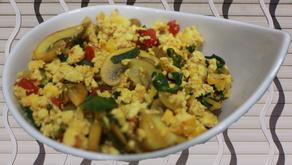Huevos tofu!