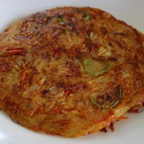 Tortilla española vegana