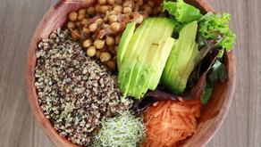 Bowl proteico de garbanzos