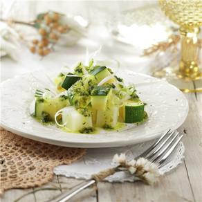 Salsa de albahaca con verduras o con pasta